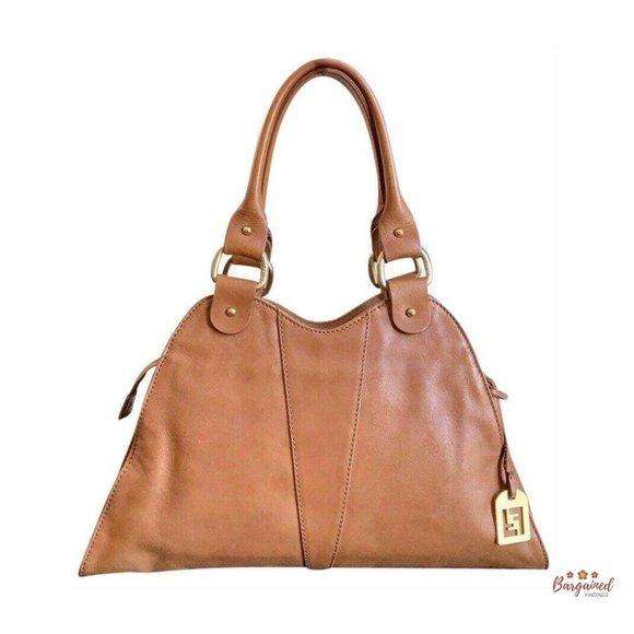 Authentic Fendi Devil Trapezio Handbag 8BR254